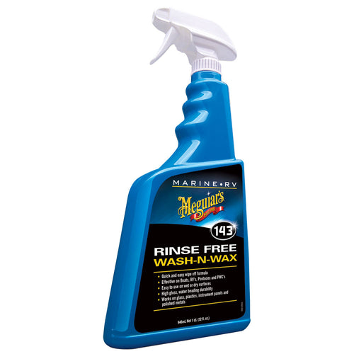 Meguiar's #143 Boat-RV Rinse Free Wash-N-Wax - 32oz [M14332]-Meguiar's-Point Supplies Inc.