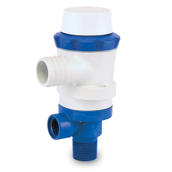 Shurflo by Pentair PIRANHA Livewell 600 Pump - 12 VDC, 600 GPH [357-013-10] - Point Supplies Inc.