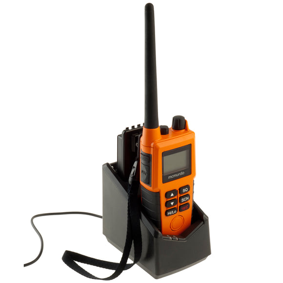 McMurdo R5 GMDSS VHF Handheld Radio - Pack A - Full Feature Option [20-001-01A] - Point Supplies Inc.