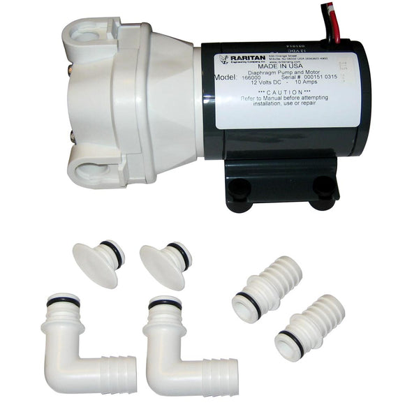 Raritan Diaphragm Intake Pump - 12v [166000] - Point Supplies Inc.