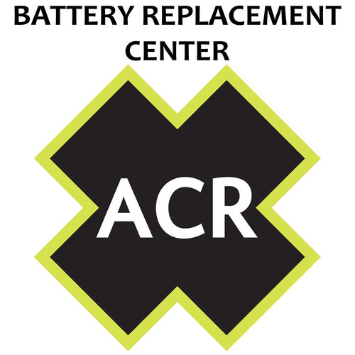 ACR FBRS 2880 & 2881 Battery Replacement Service - PLB-375 ResQLink-ResQLink+ [2880.91]-ACR Electronics-Point Supplies Inc.