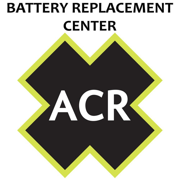 ACR FBRS 2880 & 2881 Battery Replacement Service - PLB-375 ResQLink/ResQLink+ [2880.91] - Point Supplies Inc.