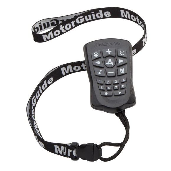 MotorGuide PinPoint GPS Replacement Remote [8M0092071] - Point Supplies Inc.
