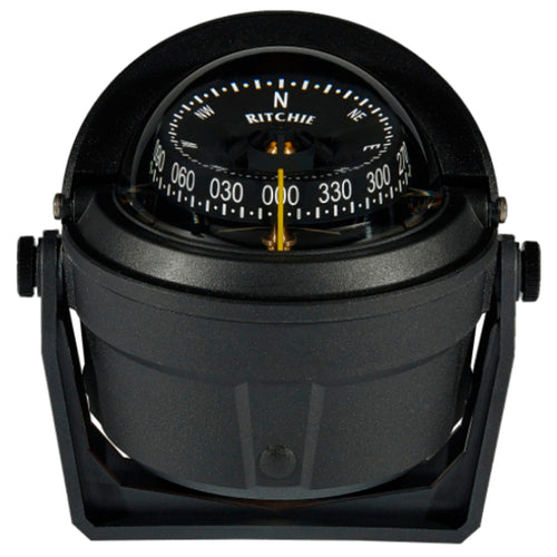 Ritchie B-81-WM Voyager Bracket Mount Compass - Wheelmark Approved f-Lifeboat & Rescue Boat Use [B-81-WM] - point-supplies.myshopify.com
