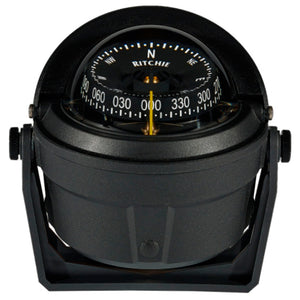 Ritchie B-81-WM Voyager Bracket Mount Compass - Wheelmark Approved f/Lifeboat & Rescue Boat Use [B-81-WM] - Point Supplies Inc.