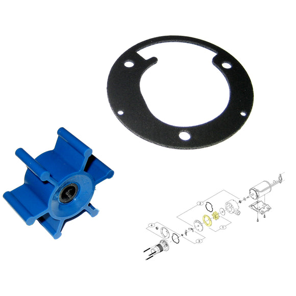 Shurflo by Pentair Macerator Impeller Kit f/3200 Series - Includes Gasket [94-571-00] - Point Supplies Inc.