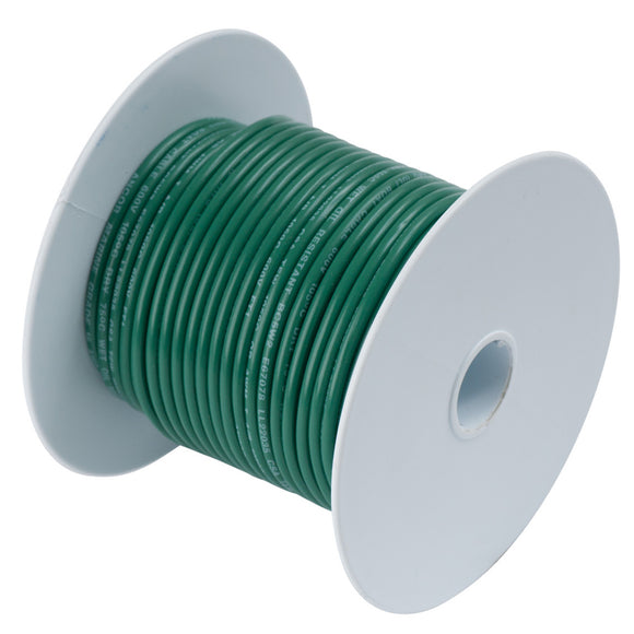Ancor Green 14AWG Tinned Copper Wire - 100' [104310] - Point Supplies Inc.