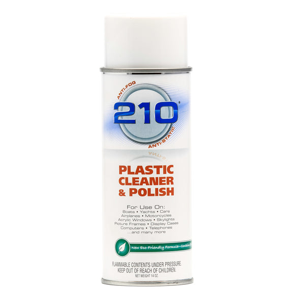 Camco 210 Plastic Cleaner Polish 14oz Spray [40934] - Point Supplies Inc.