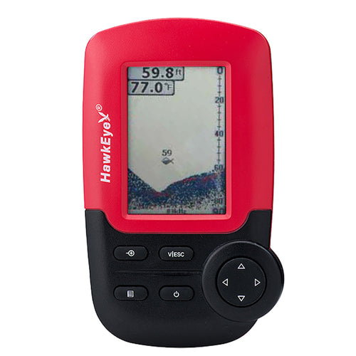 HawkEye FishTrax 1C Handheld Fish Finder w-HD Color VirtuView Display [FT1PXC] - point-supplies.myshopify.com