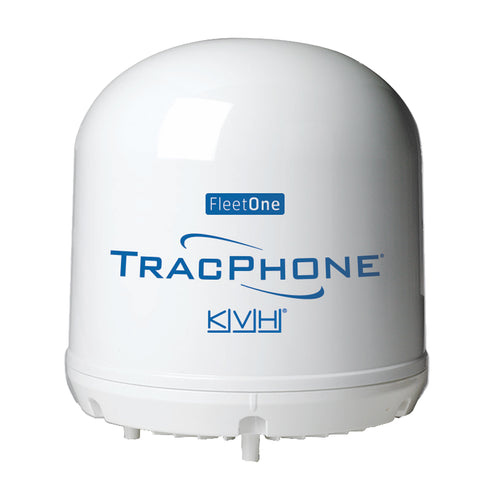 KVH TracPhone Fleet One Compact Dome w-10M Cable [01-0398]-KVH-Point Supplies Inc.