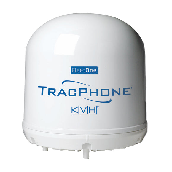 KVH TracPhone Fleet One Compact Dome w/10M Cable [01-0398] - Point Supplies Inc.