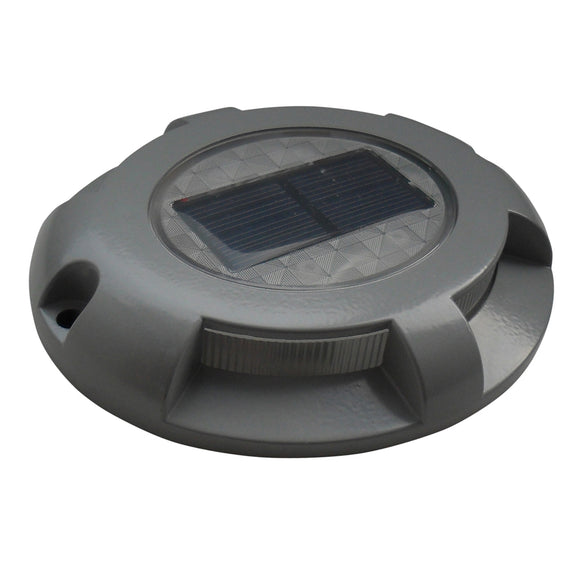Dock Edge Panoramic Solar Dock Light [96-286-F] - Point Supplies Inc.