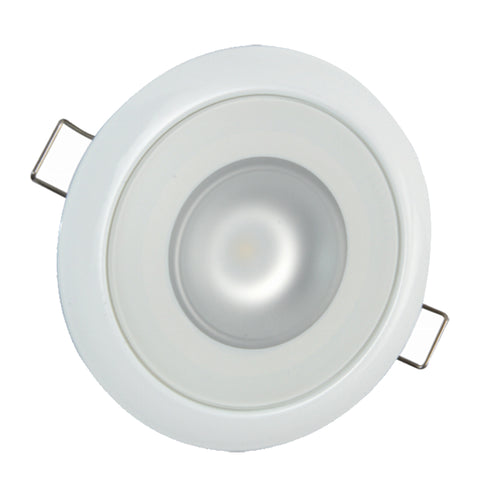 Lumitec Mirage Flush Mount Down Light Spectrum RGBW - White Housing [113127]-Lumitec-Point Supplies Inc.