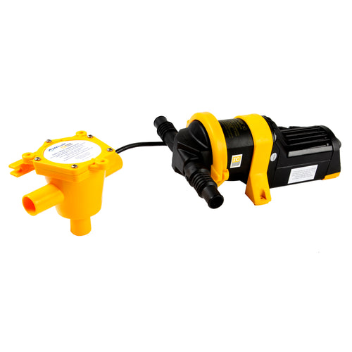 Whale Grey IC Waste Pump 12V [WM8284]-Whale Marine-Point Supplies Inc.