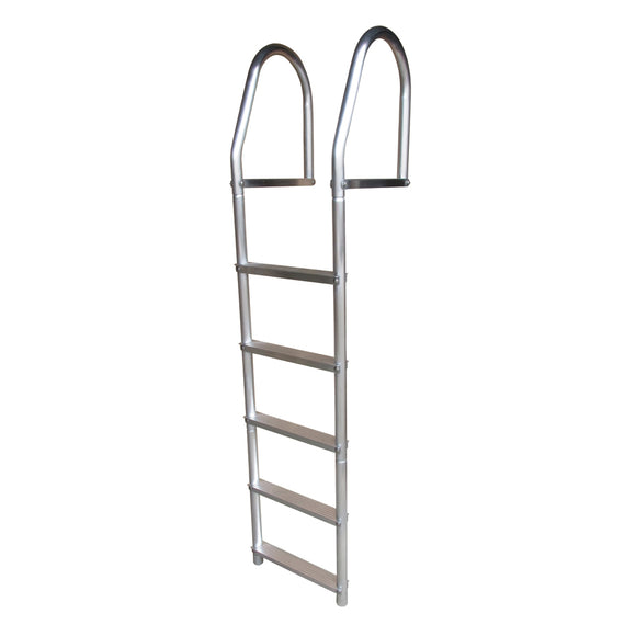Dock Edge Fixed Eco - Weld Free Aluminum 5-Step Dock Ladder [2075-F] - Point Supplies Inc.