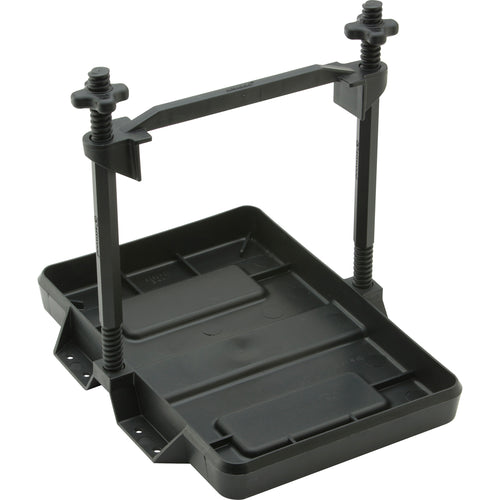 Attwood Heavy-Duty All-Plastic Adjustable Battery Tray - 27 Series [9098-5] - point-supplies.myshopify.com