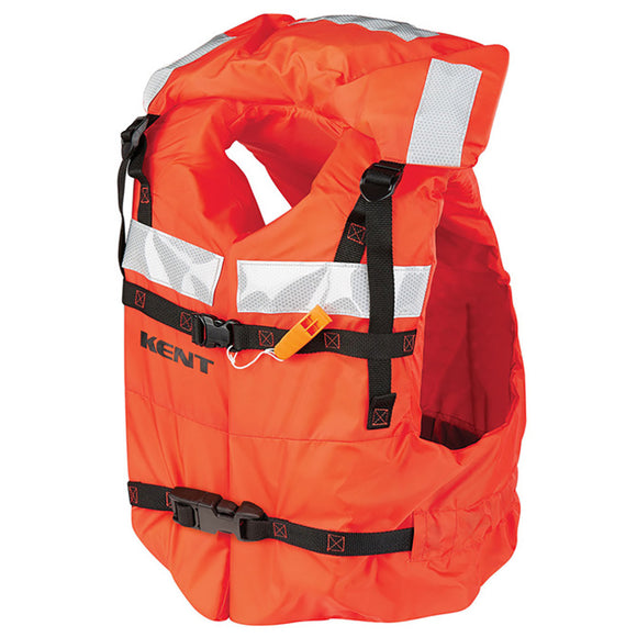 Kent Type 1 Commercial Adult Life Jacket - Vest Style - Universal [100400-200-004-16] - Point Supplies Inc.