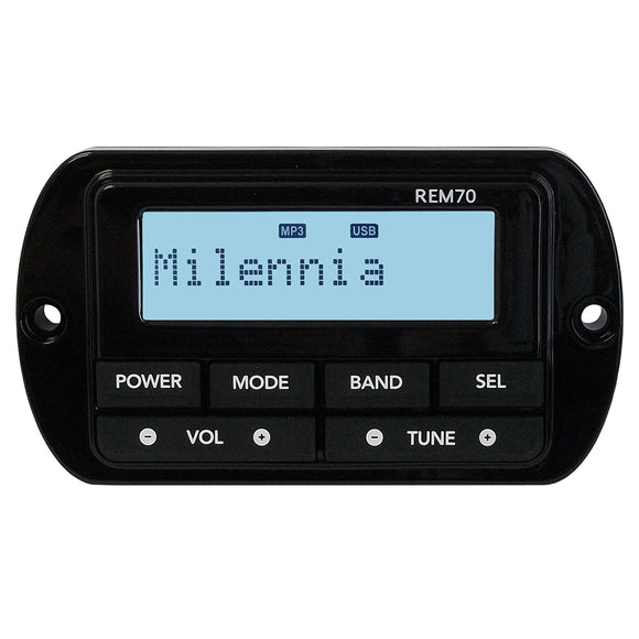 Milennia REM70 Wired Remote [MILREM70] - Point Supplies Inc.