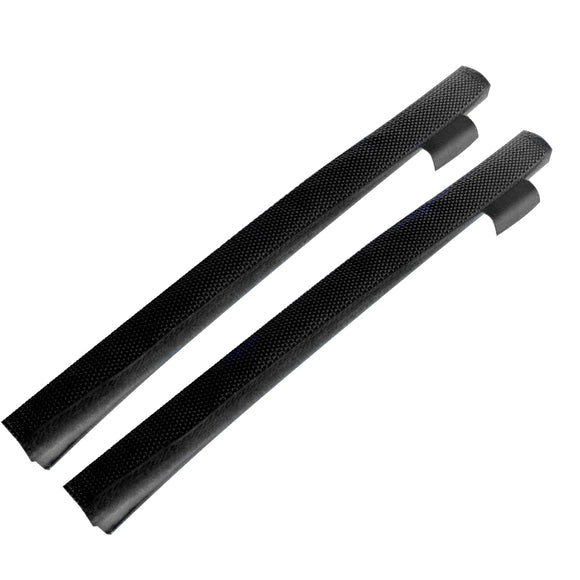Davis Secure Removable Chafe Guards - Black (Pair) [397] - Point Supplies Inc.