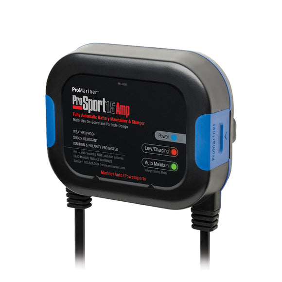 ProMariner ProSport 1.5A Multi-Use Maintainer - 120V - 1-Bank [44001] - Point Supplies Inc.