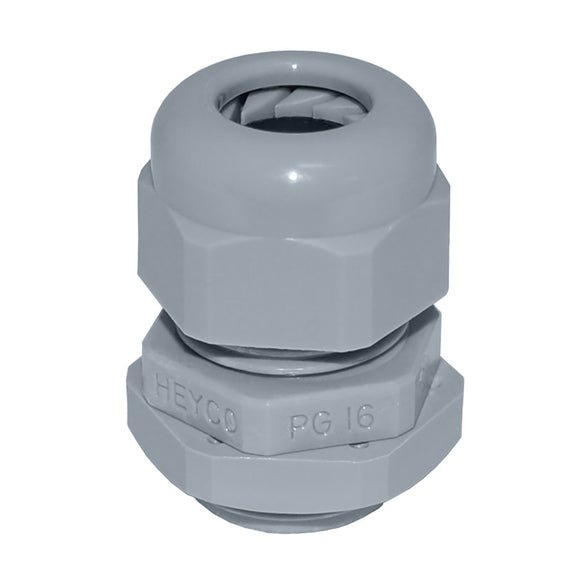 Blue Sea 3125 Medium Cable Gland - #14-#10 Cable [3125] - point-supplies.myshopify.com