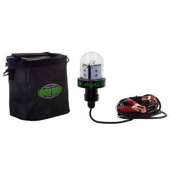 Hydro Glow HG45 45W-12V Deep Water LED Fish Light - Green Globe Style [HG45]-Hydro Glow-Point Supplies Inc.