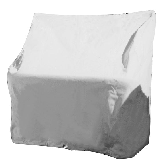 Taylor Made Large Swingback Back Boat Seat Cover - Vinyl White [40245] - Point Supplies Inc.
