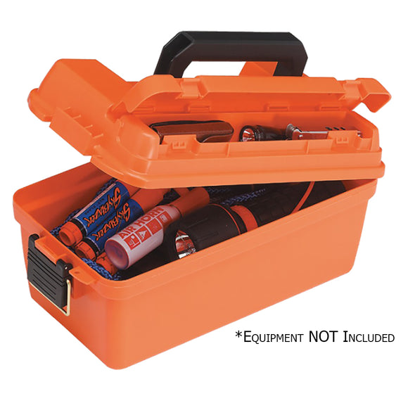 Plano Small Shallow Emergency Dry Storage Supply Box - Orange [141250] - Point Supplies Inc.