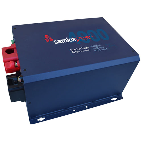 Samlex 4000W Pure Sine Inverter-Charger - 24V [EVO-4024] - point-supplies.myshopify.com