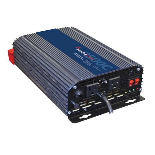 Samlex 1500W Modified Sine Wave Inverter-Charger - 12V [SAM-1500C-12] - point-supplies.myshopify.com
