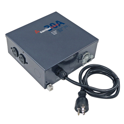 Samlex 30A Transfer Switch w-Inverter Quick Connect [STS-30]-Samlex America-Point Supplies Inc.