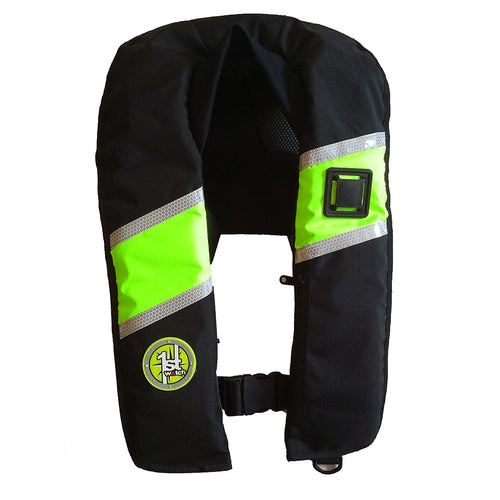 First Watch 33 Gram Inflatable PFD - Manual - Hi-Vis [FW-330M-HV] - point-supplies.myshopify.com
