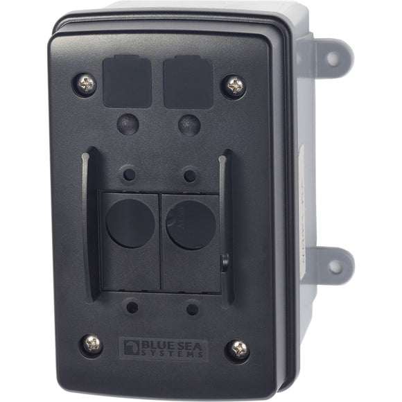 Blue Sea 3131 Surface Mount Circuit Breaker Enclosure [3131] - Point Supplies Inc.