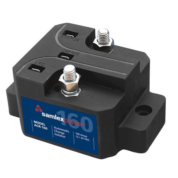 Samlex 160A Automatic Charge Isolator - 12V or 24V [ACR-160] - Point Supplies Inc.