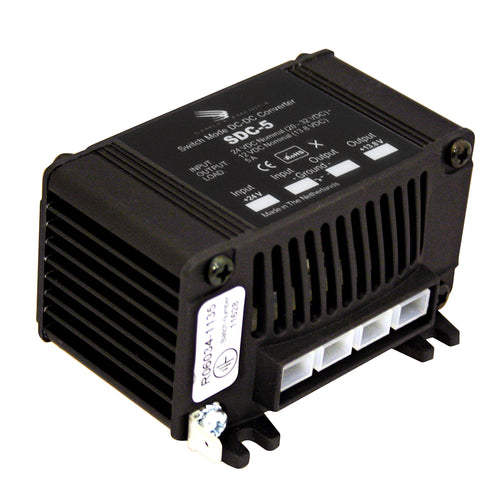 Samlex 5A Non-Isolated Step-Down 24VDC-12VDC Converter [SDC-5] - point-supplies.myshopify.com
