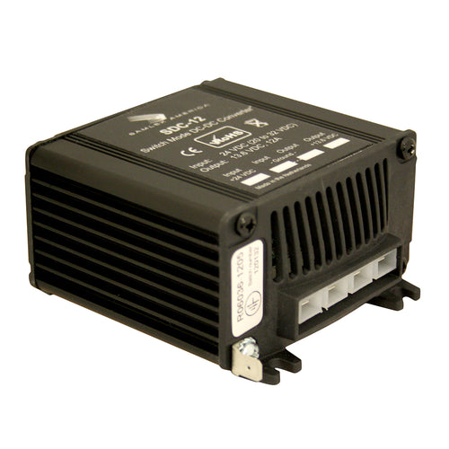 Samlex 12A Non-Isolated Step-Down 24VDC-12VDC Converter [SDC-12] - point-supplies.myshopify.com