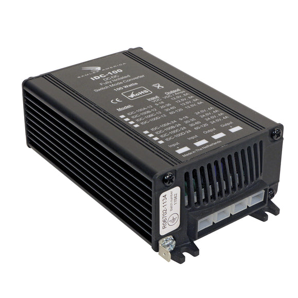 Samlex 100W Fully Isolated DC-DC Converter - 4A - 9-18V Input - 24V Output [IDC-100A-24] - Point Supplies Inc.
