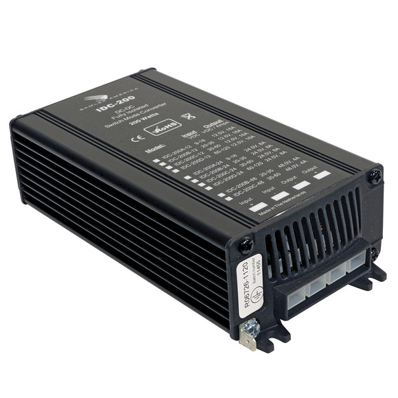 Samlex 200W Fully Isolated DC-DC Converter - 16A - 30-60V Input - 12V Output [IDC-200C-12] - Point Supplies Inc.