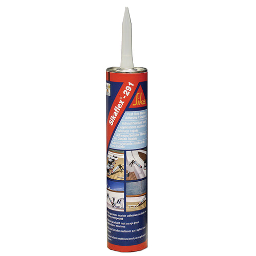 Sika Sikaflex 291 Fast Cure Adhesive Sealant 10.3oz(300ml) Cartridge - Black [90923]-Sika-Point Supplies Inc.