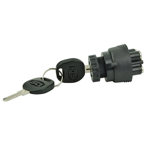 BEP 3-Position Ignition Switch - OFF-Ignition-Accessory-Start [1001607]-BEP Marine-Point Supplies Inc.