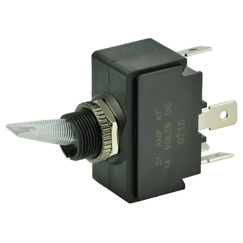 BEP SPST Lighted Toggle Switch - Red LED - 12V - ON-OFF [1001906]-BEP Marine-Point Supplies Inc.