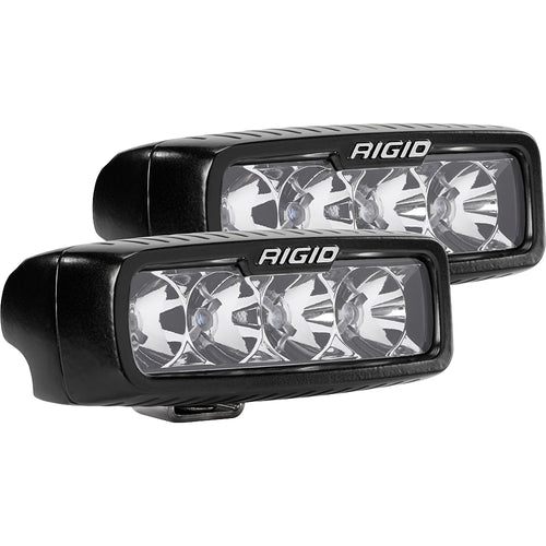 RIGID Industries SR-Q Series PRO Flood LED - Pair - Black [905113] - point-supplies.myshopify.com