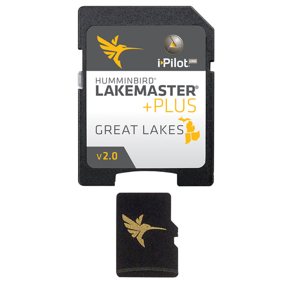 Humminbird LakeMaster PLUS Chart - Great Lakes Edition [600015-6] - Point Supplies Inc.