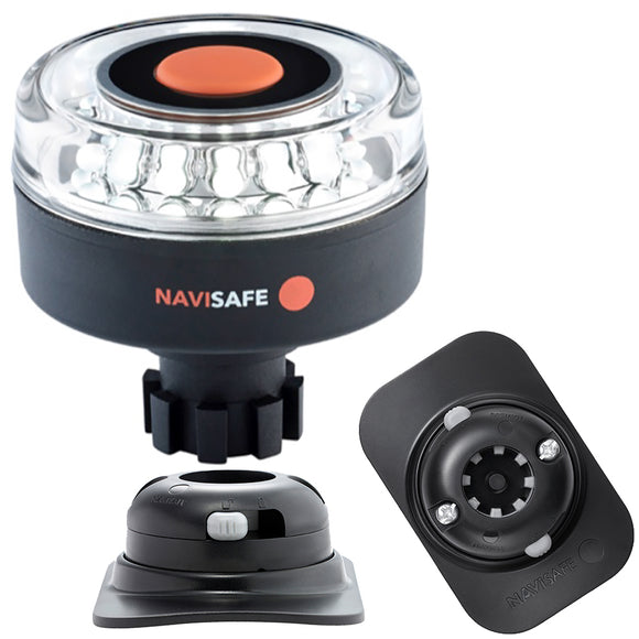 Navisafe Navilight 360 2NM w/Navibolt Base  RIB Mount - Black [042KIT2] - Point Supplies Inc.