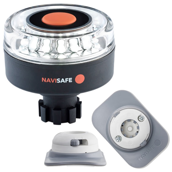 Navisafe Navilight 360 2NM w/Navibolt Base  RIB Mount - White [042KIT4] - Point Supplies Inc.