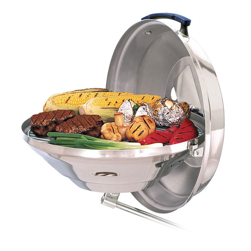 Magma Marine Kettle Charcoal Grill w-Hinged Lid -*Case of 3* [A10-114CASE] - point-supplies.myshopify.com