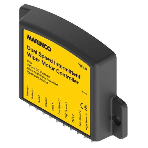 Marinco Dual Speed Intermittent Wiper Motor Controller [76080] - point-supplies.myshopify.com