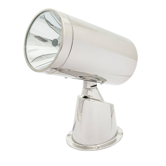 Marinco Wireless Stainless Steel Spotlight/Floodlight - No Remote [22151A] - Point Supplies Inc.