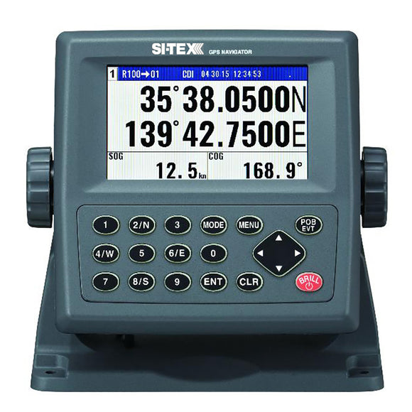 SI-TEX GPS-915 Receiver - 72 Channel w/Large Color Display [GPS915] - Point Supplies Inc.