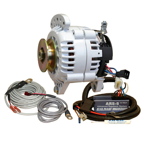 Balmar 60 Series Alternator - Saddle Mount(Dual Foot) Charging Kit - 100A - 12V [60-YP-100-SV] - Point Supplies Inc.